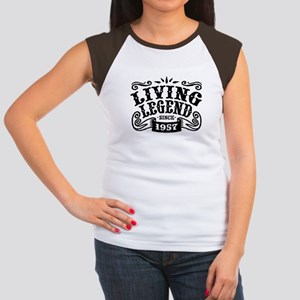 Living Legend Since 19 Junior's Cap Sleeve T-Shirt