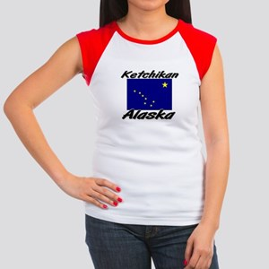 Ketchikan Alaska Women's Cap Sleeve T-Shirt