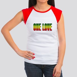One Love Women's Cap Sleeve T-Shirt