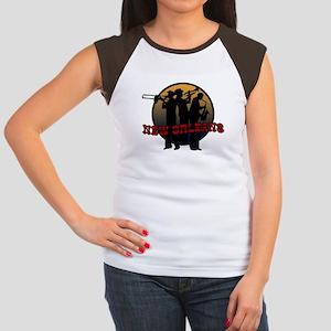 New Orleans Jazz Players Women's Cap Sleeve T-Shir