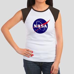 NASA Meatball Logo Women's Cap Sleeve T-Shirt