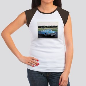 57 Chevy Women's Cap Sleeve T-Shirt