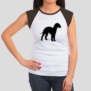 Bedlington Terrier Women's Cap Sleeve T-Shirt