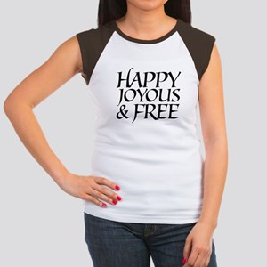 Happy Joyous & Free Women's Cap Sleeve T-Shirt