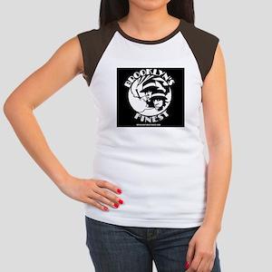 BK FINEST Women's Cap Sleeve T-Shirt