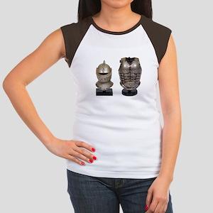 Armor stand Women's Cap Sleeve T-Shirt
