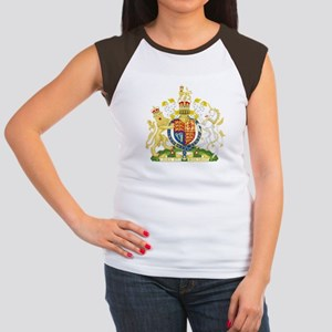 United Kingdom Coat Of Arms Women's Cap Sleeve T-S