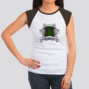 Armstrong Tartan Shield Women's Cap Sleeve T-Shirt
