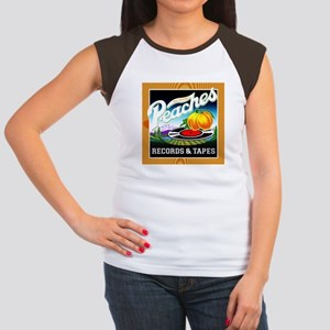 Peaches Records & Tapes Women's Cap Sleeve T-Shirt