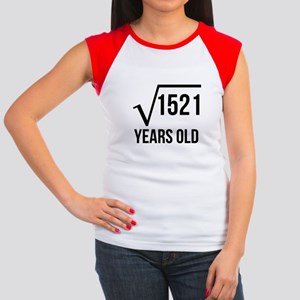 39 Years Old Square Root T-Shirt
