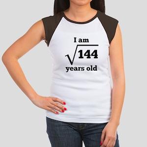 12th Birthday Square Root T-Shirt