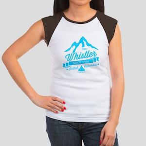 Whistler Mountain Vinta Women's Cap Sleeve T-Shirt