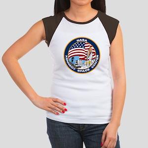 Kennedy Space Center Women's Cap Sleeve T-Shirt