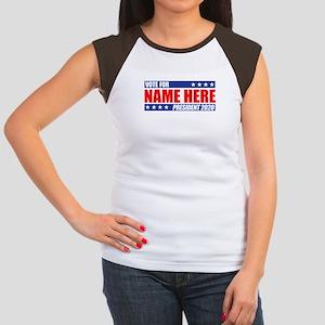 Vote For 2020 Customiz Junior's Cap Sleeve T-Shirt