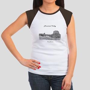B@W Monument Valley Junior's Cap Sleeve T-Shirt