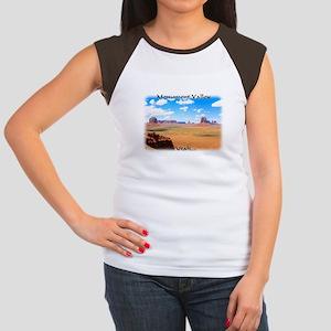 Artist's Point Junior's Cap Sleeve T-Shirt