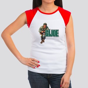 G.I. Joe Logo Junior's Cap Sleeve T-Shirt