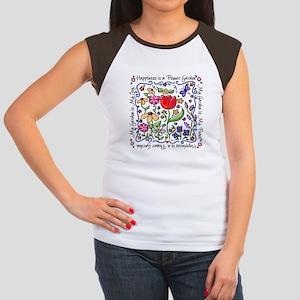 My Garden, My Joy Women's Cap Sleeve T-Shirt