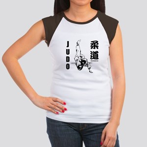 Judo Throw Women's Cap Sleeve T-Shirt