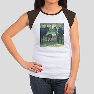 black angus Women's Cap Sleeve T-Shirt