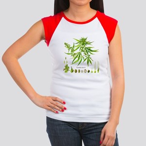 Cannabis Sativa L. Women's Cap Sleeve T-Shirt