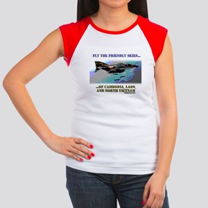Fly The Friendly Skies... Women's Cap Sleeve T-Shi