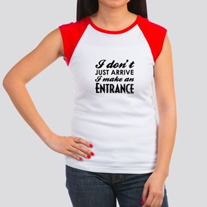 Entrance Women's Cap Sleeve T-Shirt