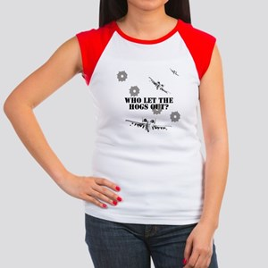 A-10 Warthog Airforce Women's Cap Sleeve T-Shirt