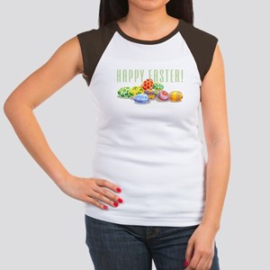 Happy Easter Women's Cap Sleeve T-Shirt