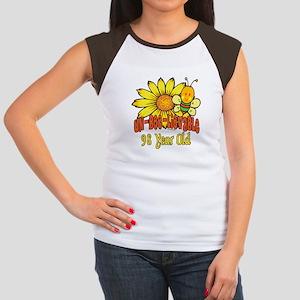 Un-Bee-Lievable 98th Women's Cap Sleeve T-Shirt