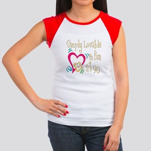 Lovable 90th Women's Cap Sleeve T-Shirt