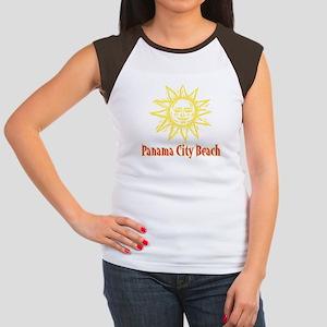 Panama City Beach Sun - Women's Cap Sleeve T-Shirt