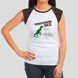 Thesaurus Rex Women's Cap Sleeve T-Shirt