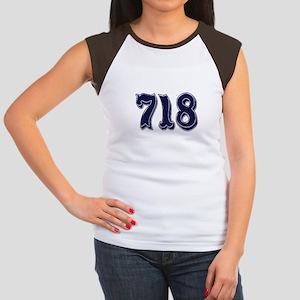 718 Womens Cap Sleeve T-Shirt