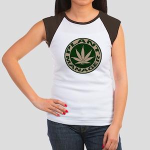 Plant Manager Women's Cap Sleeve T-Shirt