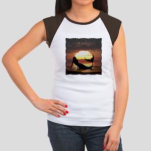 Existence Women's Cap Sleeve T-Shirt