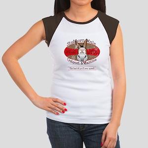 Stubborn Mule Women's Cap Sleeve T-Shirt