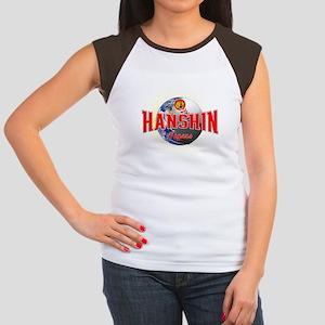 Hanshin Tigers Women's Cap Sleeve T-Shirt