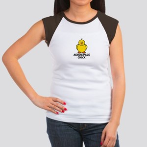 Aerospace Chick Women's Cap Sleeve T-Shirt