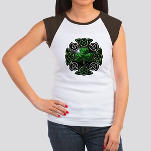 St. Patrick's Day Celtic Knot Women's Cap Sleeve T