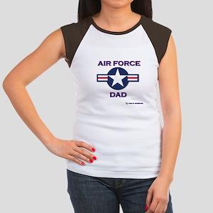 air force dad Women's Cap Sleeve T-Shirt