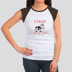 Cows Women's Cap Sleeve T-Shirt