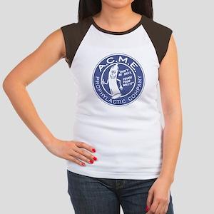 A.C.M.E. (Blue) Women's Cap Sleeve T-Shirt