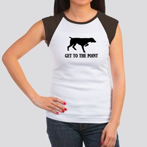 GET TO THE POINT Women's Cap Sleeve T-Shirt