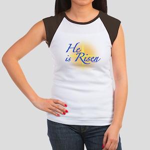He is Risen Women's Cap Sleeve T-Shirt
