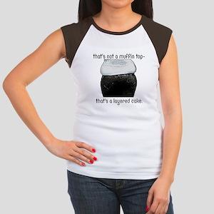 Muffin Top Women's Cap Sleeve T-Shirt