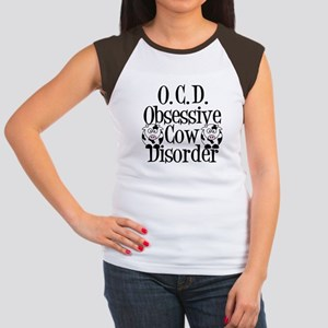 Obsessive Cow Disorder Women's Cap Sleeve T-Shirt