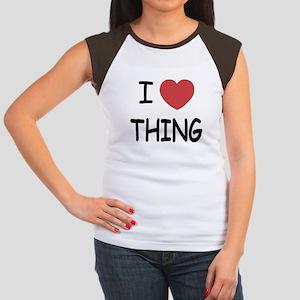 I heart thing Women's Cap Sleeve T-Shirt