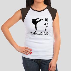 Taekwondo Women's Cap Sleeve T-Shirt