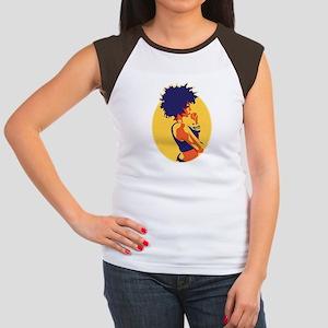 The Thinker Women's Cap Sleeve T-Shirt